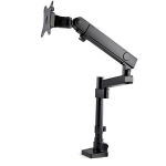 "StarTech.com Desk Mount Monitor Arm with 2x USB 3.0 ports - Pole Mount Full Motion Single Arm Monitor Mount for up to 34"" VESA Display - Ergonomic Articulating Arm - Desk Clamp/Grommet"
