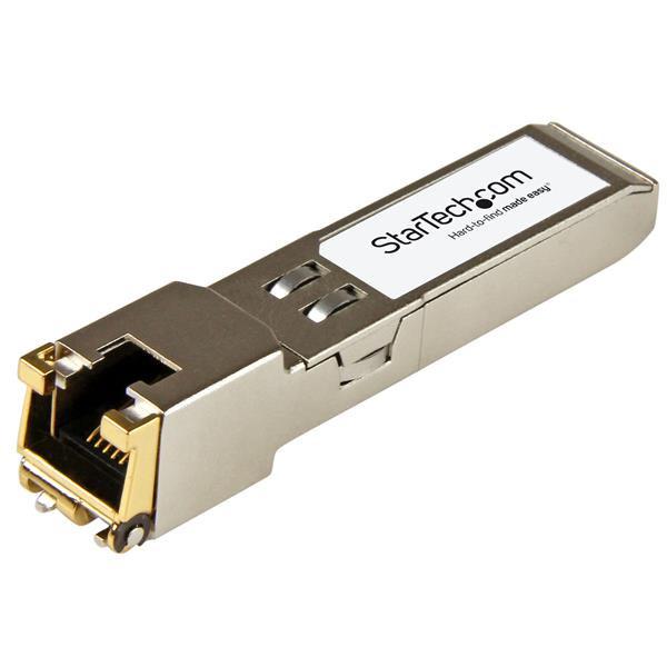 StarTech.com Módulo transceptor SFP compatible con el modelo XBR-000190 de Brocade - 10/100/1000Base-TX