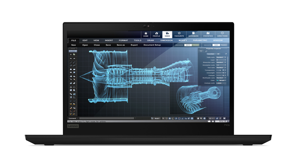 "Lenovo ThinkPad P43s Estación de trabajo móvil Negro 35,6 cm (14"") 1920 x 1080 Pixeles 8ª generación de procesadores Intel® Core™ i7 8 GB DDR4-SDRAM 512 GB SSD NVIDIA Quadro P520 Wi-Fi 5 (802.11ac) Windows 10 Pro"