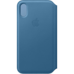 "Apple MRX02ZM/A mobile phone case 14.7 cm (5.8"") Folio Blue"