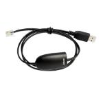 Jabra 14201-29 cable gender changer RJ-9 USB A Black