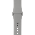 Apple Concrete Sport Band Grey Fluoroelastomer