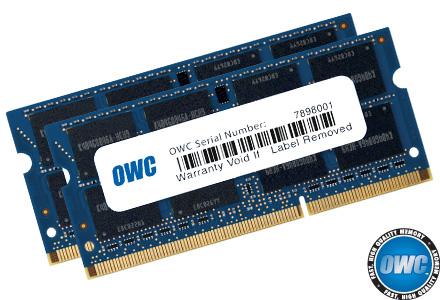 OWC 1600DDR3S16P 16GB DDR3 1600MHz memory module