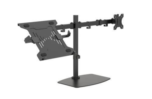 Vision VFM-DSDB+S notebook stand Notebook & monitor arm Black 41.9 cm (16.5