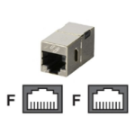 Black Box FM608 socket-outlet RJ-45 Metallic