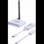 Vision TC-HDMIW30 AV transmitter & receiver White AV extender