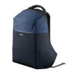 Trust Nox Anti-theft backpack Black/Blue Polyester