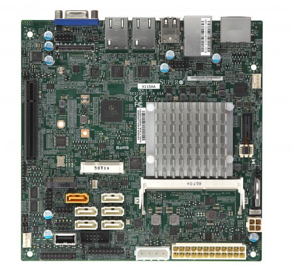 Supermicro X11SAA server/workstation motherboard BGA 1296 Mini-ITX