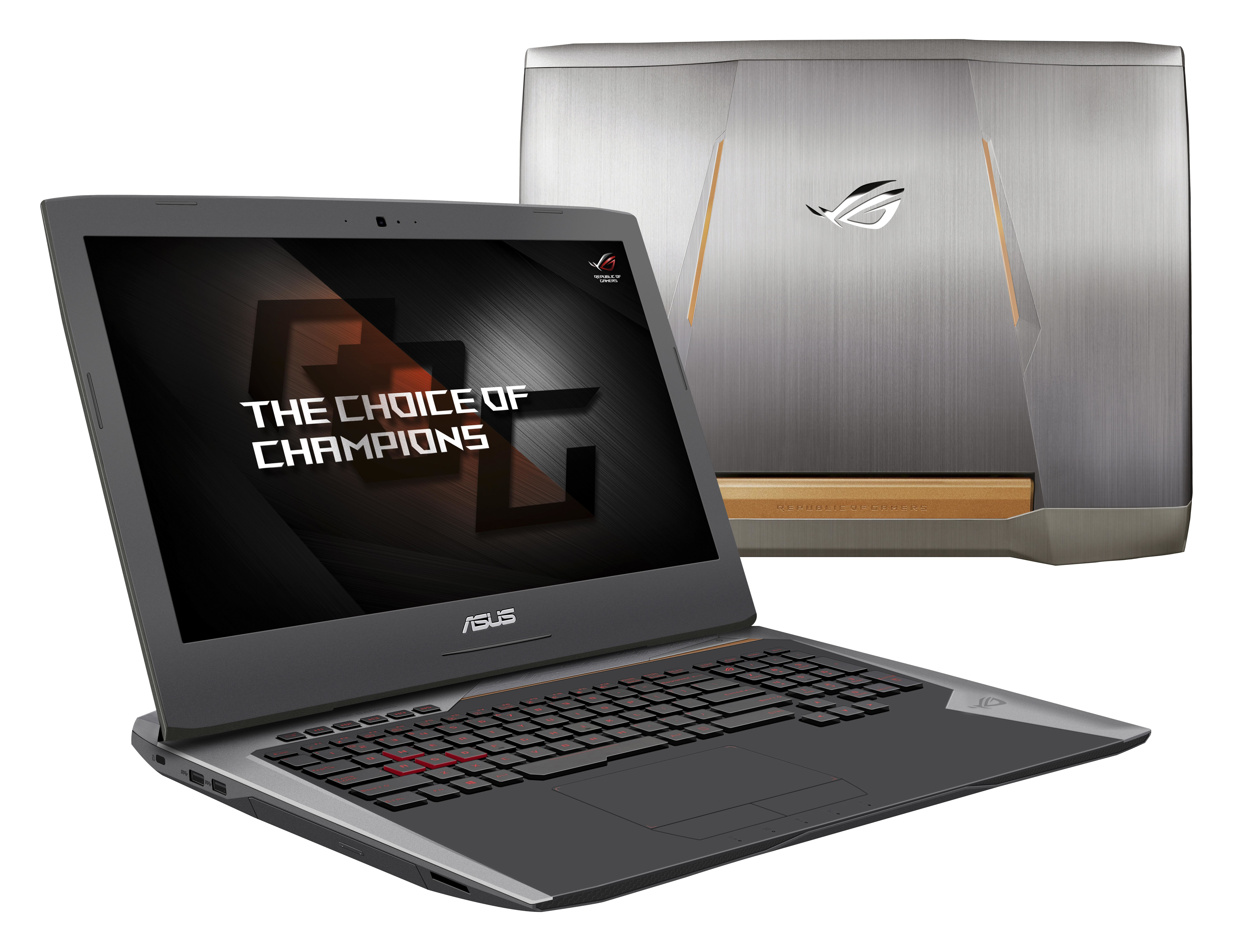 "ASUS ROG G752VY-GC284T 2.7GHz i7-6820HK 17.3"" 1920 x 1080pixels Black,Grey,Silver notebook"