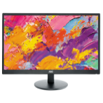 "AOC Value-line E2470SWHE 23.6"" Full HD LCD Flat Black computer monitor LED display"