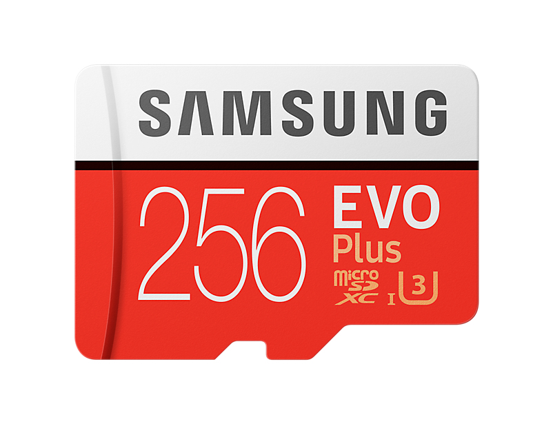 Micro Sd 256GB Evo Plus Flash Card