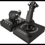 Logitech G X56 HOTAS Black, Silver USB 2.0 Flight Sim Analogue PC