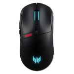 Acer Predator Cestus 350 mouse Ambidextrous RF Wireless+USB Type-C Optical 16000 DPI