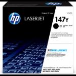 HP Оригінальний картридж надвисокої ємності з чорним тонером 147Y LaserJet Original Black 1 pc(s)