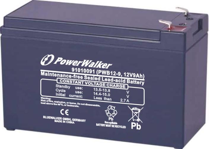 Battery 12V/9aH