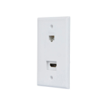 Monoprice 12094 wall plate/switch cover White