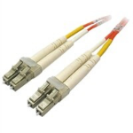 DELL 8J943 fibre optic cable 2 m LC Orange, Yellow
