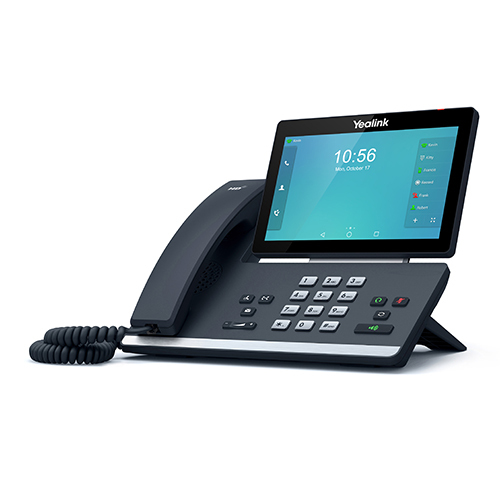 Yealink SIP-T58A IP phone Black Wired handset LCD Wi-Fi