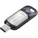 Sandisk Ultra unidad flash USB 128 GB USB Tipo C 3.2 Gen 1 (3.1 Gen 1) Negro, Plata