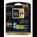 PNY 64GB MicroSD 64GB MicroSD UHS Class 10 memory card