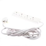 SMJ B4W5MP Indoor 4AC outlet(s) 5m White power extensionZZZZZ], B4W5MP