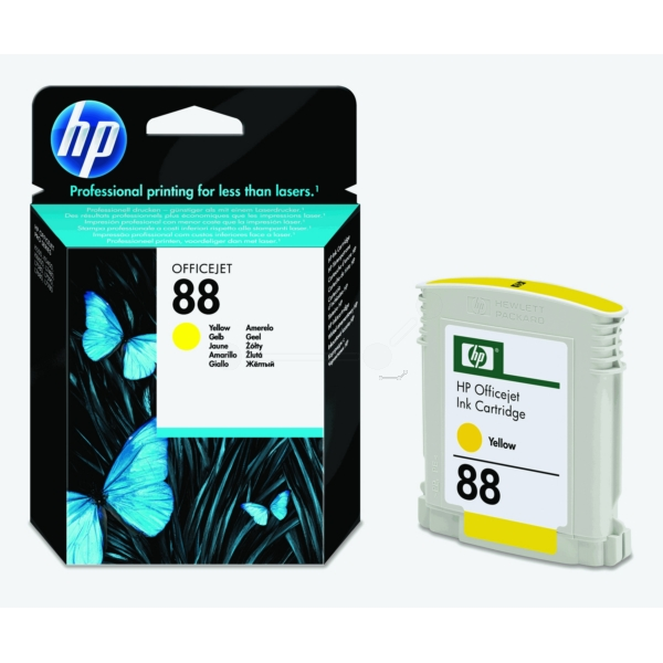 HP C9388AE (88) Ink cartridge yellow, 860 pages, 10ml