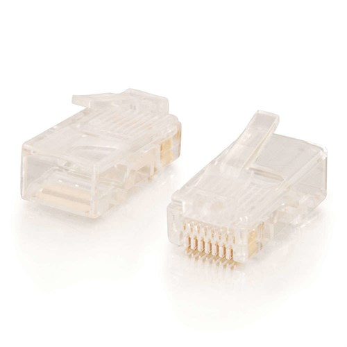 C2G 88123 RJ-45 White wire connector