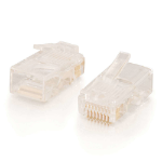 C2G 88123 wire connector RJ-45 White