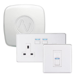 Lightwave L21422WH iluminación inteligente Smart socket kit Blanco