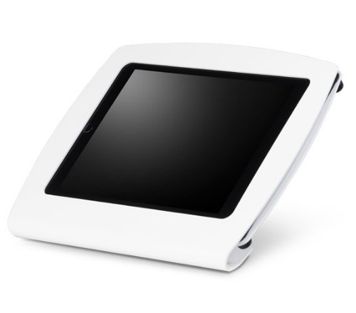 "SpacePole SPCF033 10"" White tablet security enclosure"