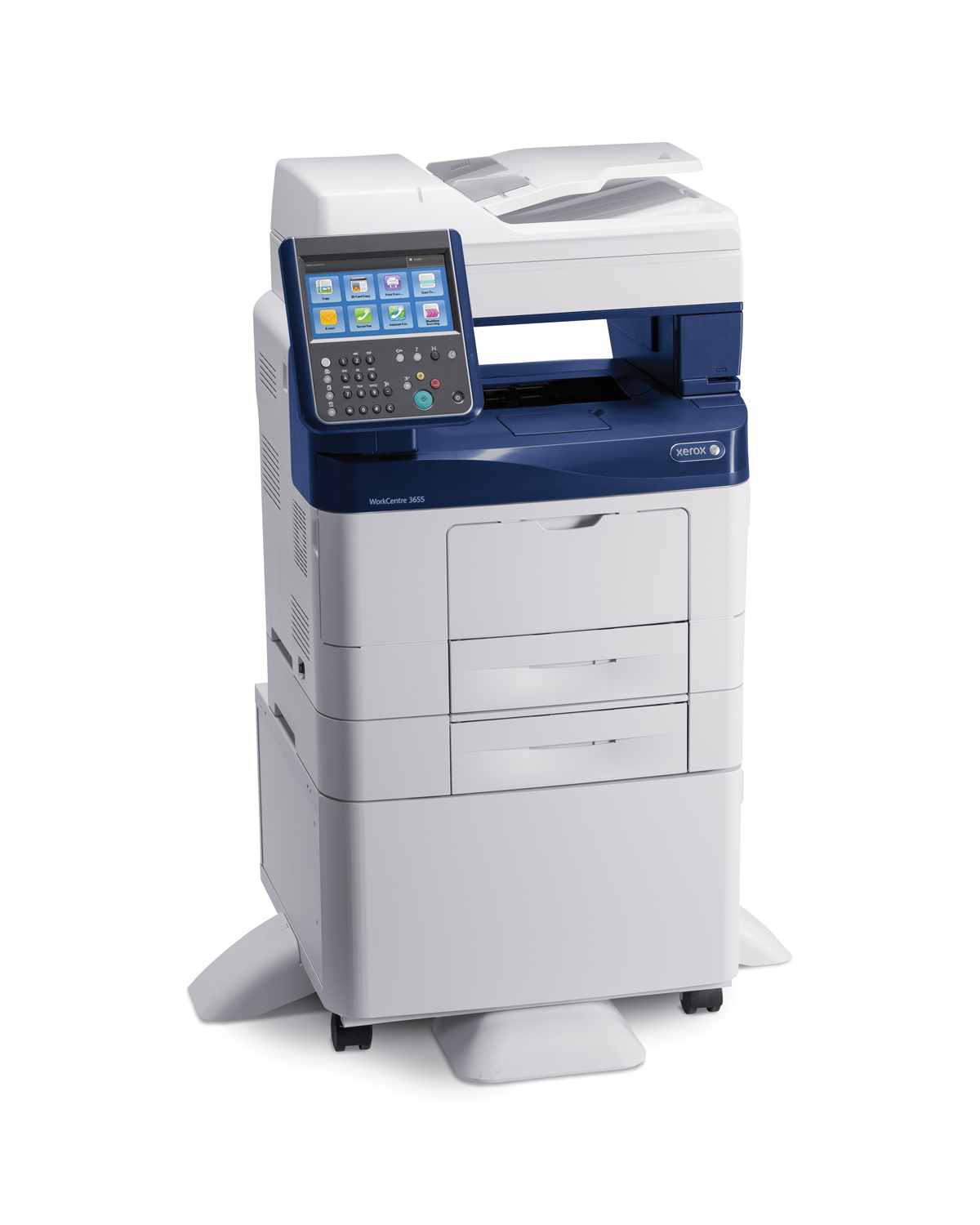 Xerox WorkCentre WC 3655 A4 45ppm Duplex Copy/Print/Scan/Fax PS3 ...