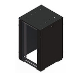 Eaton REB27808SPBE Freestanding Black rack