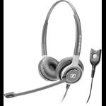 Sennheiser SC 660 Binaural Head-band Black,Silver headset