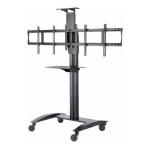Peerless SR555M multimedia cart/stand Black Flat panel