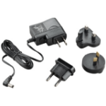 Plantronics AC Adapter power plug adapter Type C (Europlug) Type D (UK) Black