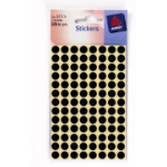 Avery Dot stickers, red, Ø 8 mm, 560 Labels-cards/package