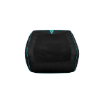 AEROCOOL ThunderX3 DB5 Gaming Bean Bag Series Black/Cyan, Spandex fabric, Leatherette, denim fabric