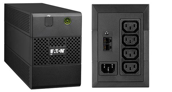 Eaton 5E850iUSB sistema de alimentación ininterrumpida (UPS) Línea interactiva 850 VA 480 W 4 salidas AC