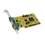 EXSYS EX-42062 Internal Serial interface cards/adapter