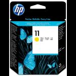 HP 11 print head Inkjet Yellow
