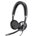 Plantronics C725 Head-band Binaural Wired Black mobile headset