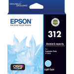 EPSON 312 Light Cyan Ink Claria Photo HD,  XP-8500
