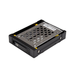 "StarTech.com SATBP125VP drive bay panel 3.5"" Carrier panel Black"