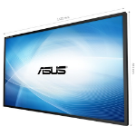 "ASUS SE655-Y signage display 165.1 cm (65"") LCD Full HD Digital signage flat panel Black"