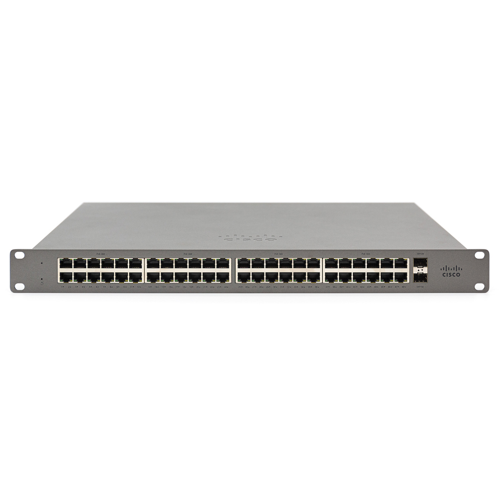 Cisco Meraki GS110 Gestionado Gigabit Ethernet (10/100/1000) Gris 1U Energía sobre Ethernet (PoE)