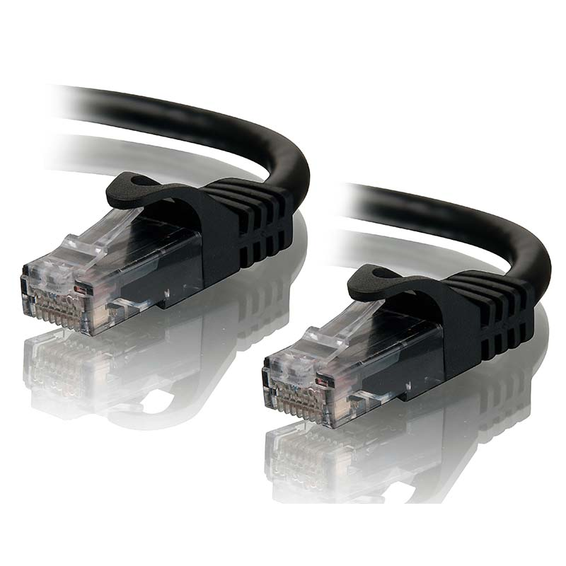 ALOGIC 2m Black CAT6  Network Cable