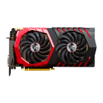 MSI GeForce GTX 1080 GAMING X+ 8G