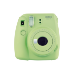 Fujifilm film Instax Mini 9 Lime Green Instant Camera inc 10 Shots