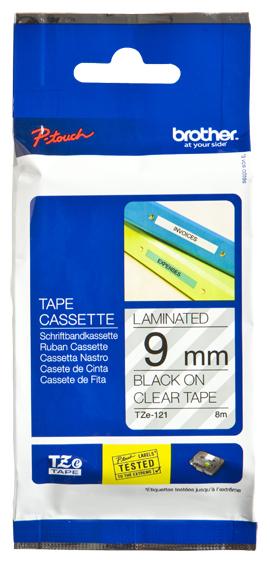 Brother TZE121 cinta para impresora de etiquetas
