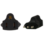InLine US 3 Pin to Italy 3 Pin Plug Adapter